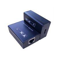 Удлинитель HDMI сигнала по UTP кабелю (витая пара) на 30 метров