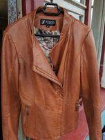 куртка кожаная женская (идеальное состояние)