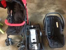 Quality stroller and car seat