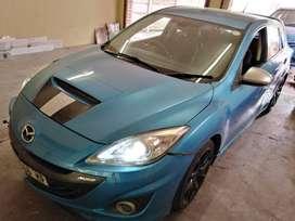 2011 Mazda 3 Mps with modified turbo