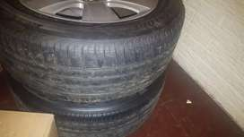Audi A4 B7 rims and tyres