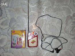Radio, słuchawki, latarka