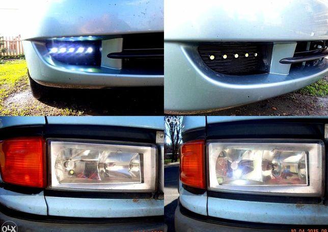 дневные ходовые габаритные огни LED лампочка светодиодная 18мм задний Кривой Рог - изображение 5