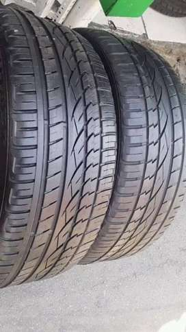 2 × 245 / 45 / 20 continental tyres for sale