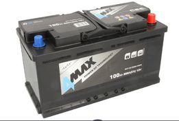 Akumulator 4Max i inne 100Ah 800A , dostawa mont gratis 3city