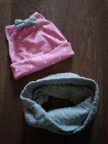Шапочка и шарф весенние ,шапка и снуд,хомут