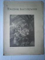 gazeta z roku 1903/4 oryginał