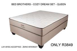 Bed Brothers Cozy Dream Set - Queen Size