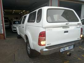 2012 TOYOTA HILUX DOUBLE CAB CANOPY