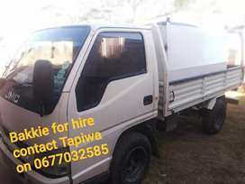 1,6 ton truck for hire