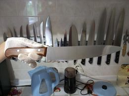 АКЦИЯ! Нож Шеф Повар 10 дюйм. Немец.сталь. 57 ед. твер. Дерев. ручка