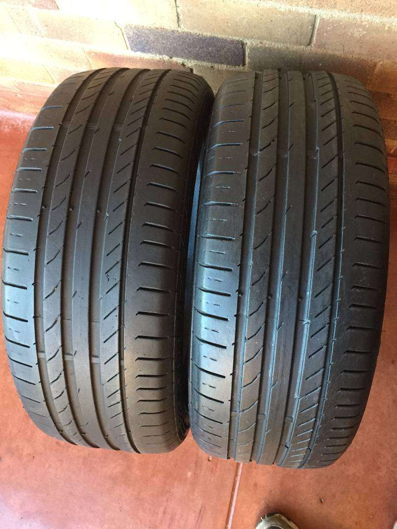 225 45 R18 Continental SSR Tyres 0