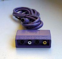 Разветвитель S-video (Hub) с двумя RCA + два S-video