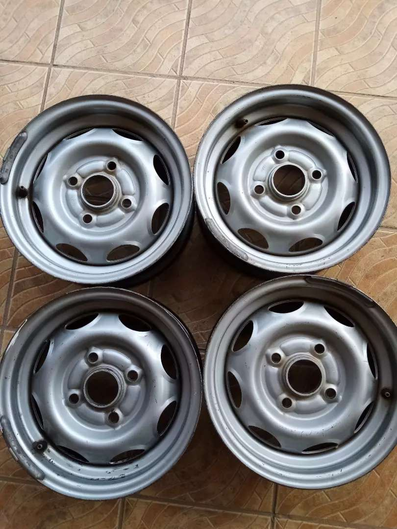 Set of four 13 inch rims still in top condition, price is negotiable