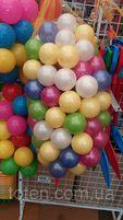 Мячики шарики 100 штук для сухого бассейна, диаметр 7.2. Украина