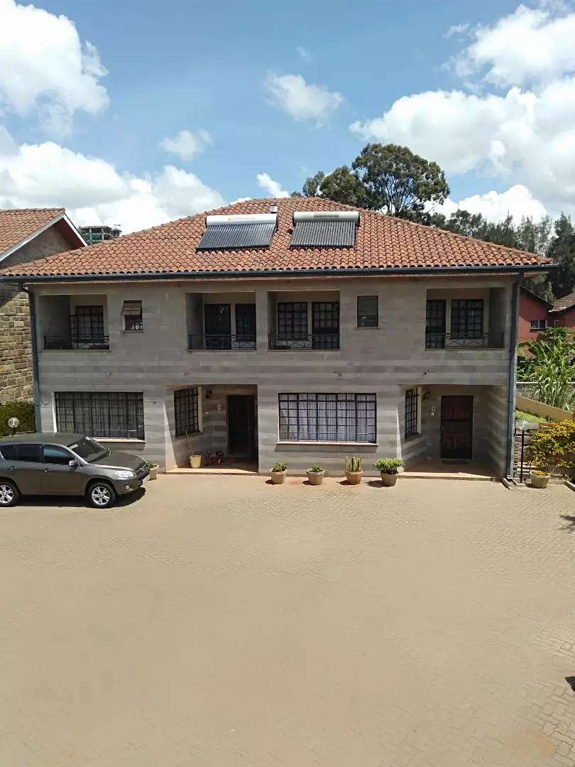Executive 3br town house to let in kilimani walking distance to Yaya. 0