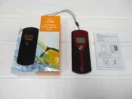 Алкотестер, тестер на алкоголь анализатор измеритель в крови цифровой