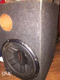 Pioneer Subwoofer with box cabinet- deep bass 0
