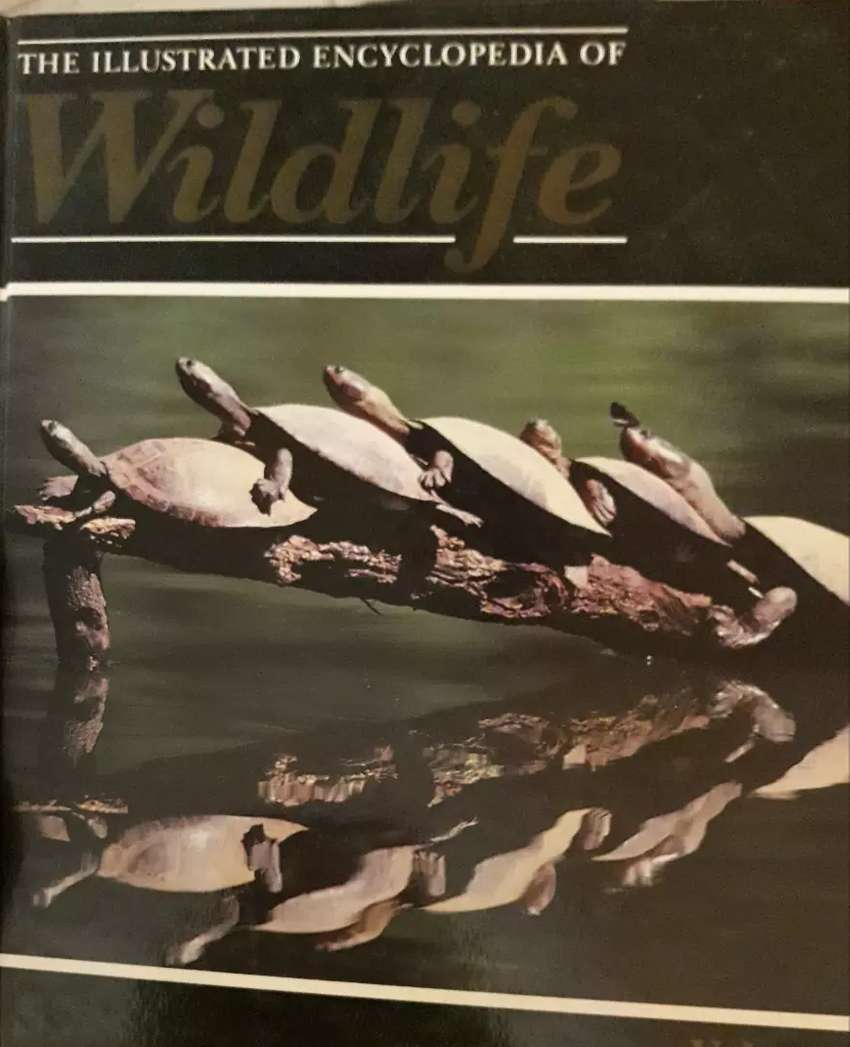 35 books of The Illustrated encyclopaedia of Wildlife 0