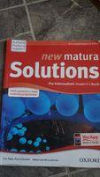 New Matura Solutions Pre-Intermediate Oxford podręcznik ćwiczeniówka
