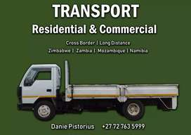 4ton transport available local and cross-border