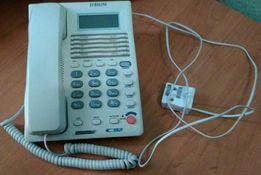 Продам рабочий телефон проводной Euroline в хорошем состоянии.