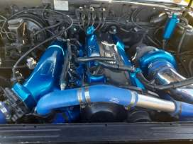 Ford courier double cab with skyline motor and box RB25 AR Turbo