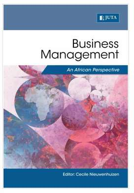 Textbook : Business Management an African Perspective