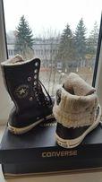 Кеди Converse оригінал, взуття, зима, весна, хутро