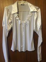 Блуза белоснежная