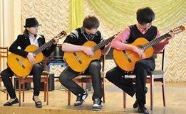 Детская школа гитары