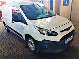 2018 Ford Transit Connnect 1.5TDCi Ambient Panelvan, 114668km, White.