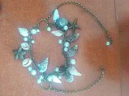 Продам ожерелье с настоящими ракушками