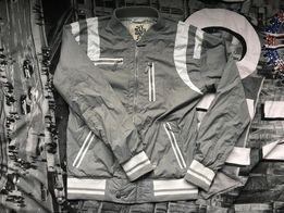 Markowa kurtka wiosenno-jesienna na bawełnianej podszewce r 164 IDEAŁ