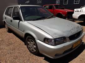 Toyota Tazz 1300 2E 2002 Breaking for spares