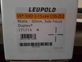 Leupold Rifle and lazer scope