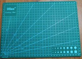 Коврик двухсторонний, раскройный мат ( инструмент для кожи)