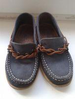 Туфли -мокасины ZaraBoys кожа на мальчика 28 размер