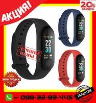 Акция!Фитнес браслет band M3 smart watch фітнес часы трекер спорт Киев