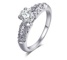 zaręczynowy pierścionek cyrkonie dielli