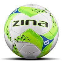 piłka Zina Luca Pro 290g biało zielona R. 4 OSTATNIA!!