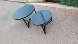 Round Steel Nesting Tables
