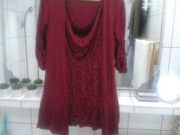 2w1 swetr i bluzka
