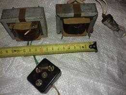 Трансформатор понижающий 220/6v