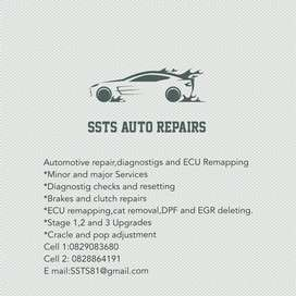 SSTS Ecu remapping and auto repairs