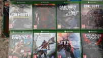 X box One Call of duty ghost,the crew,minecraft,lego movie nowa