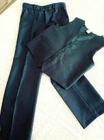 Spodnie kamizelka Garniturek do komunii rozmiar 152