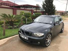 BMW 1-Series black