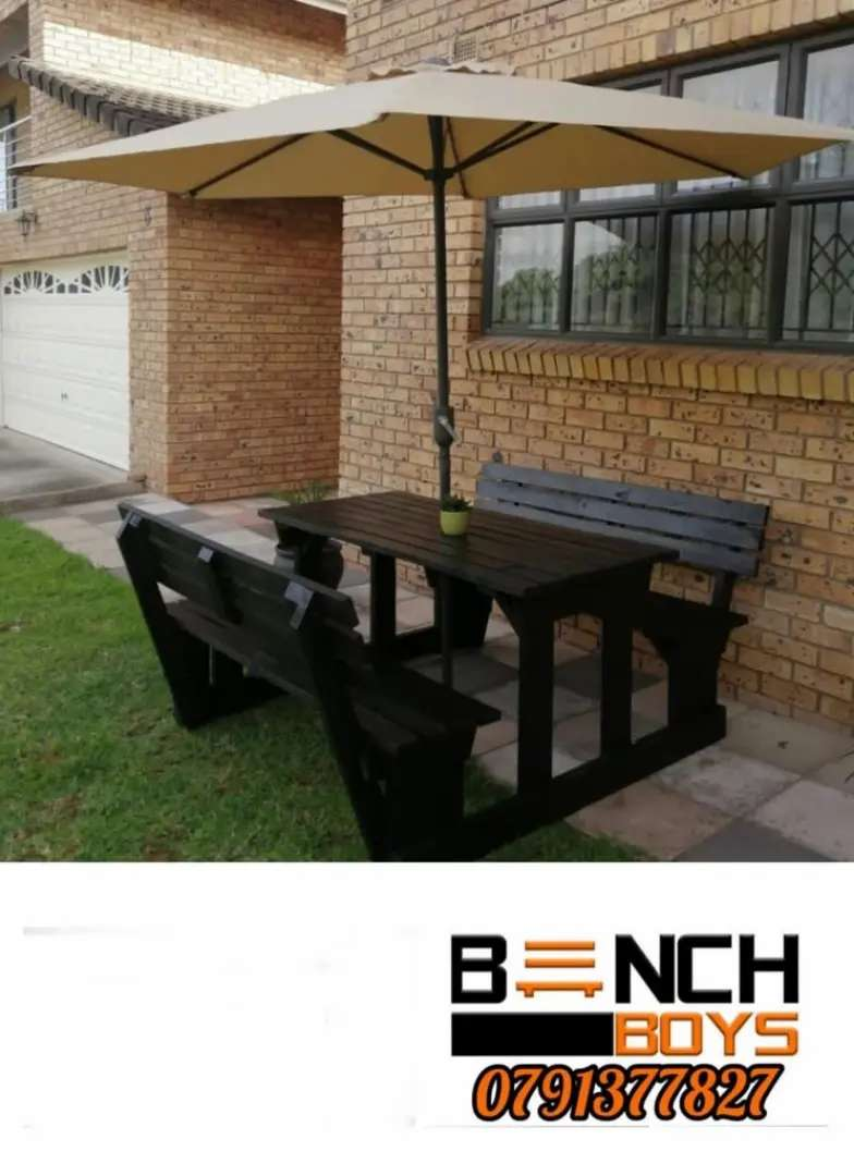 Patio and braai benches