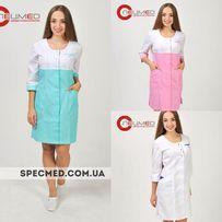Медицинский халат Медицинская одежда Халат для врачей Белый халат